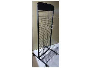 WIRE GRID PANEL STAND